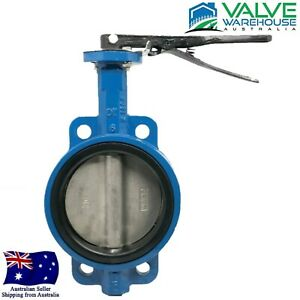 BUTTERFLY VALVE - WAFER - DUCTILE IRON - LEVER OPERATED WITH 316 ST/ST DISC