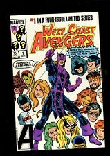 WEST COAST AVENGERS 1 (9.6) 1ST APP NEW TEAM MARVEL (B038)