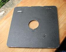 Cambo SC Monorail 10x8 5x4 lens board copal compur 0 ,  35.4mm hole