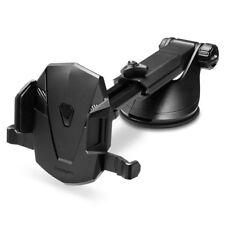 Universal Car Mount Adjustable Windscreen Dashboard Arm Smartphone Holder Black