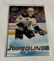 B1,170 - 2019-20 Upper Deck #472 Trent Frederic Young Guns Rookie Bruins