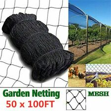 Garden Fruit Tree Anti Bird Netting Heavy Duty Net Strong Nylon Mesh 50 x 100Ft*