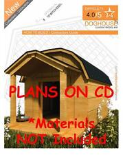 DOG HOUSE PLANS - Step By Step CAD Drawings - How To Build a Doghouse Guide - 08