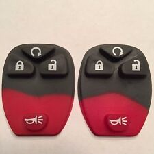 2 New Replacement 4 Button Remote Pads For OUC60270 OUC60221 15913421