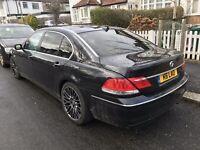 BMW 730 LD LIMOUSINE BLACK CAR 3.0 AUTOMATIC 2008 FULL LEATHER HIGH SPEC