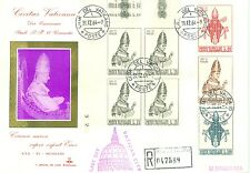 Vatican City Registered Last Day of Validity Sc#365-8 Cover