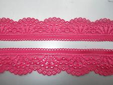 Beautiful 5 yards high elastic lace Rose lace free shipping multipurpose