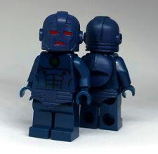 Classic Comic Iron Man Stealth Armour MK7 Custom Minifigure On Lego Bricks