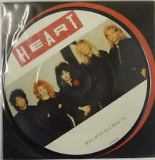 "Heart, Who Will You Run To, NEW/MINT Original UK PICTURE DISC 7"" vinyl single"