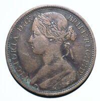 1873 United Kingdom (UK) One 1 Penny - Victoria 2nd portrait - Lot 531