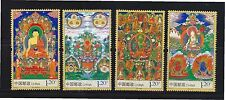 P.R. OF CHINA 2014-10 BUDDHIST DEITY PAINTING COMP. SET OF 4 STAMPS IN MINT MNH