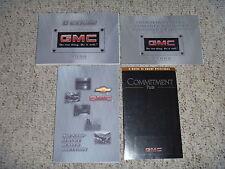 2000 GMC C-Series 4500 5500 6500 7500 Truck Diesel Owner Operator User Manual