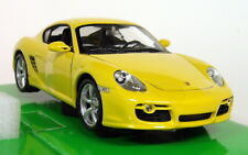 Nex Models 1/24 Scale - Porsche Cayman S - Yellow Diecast model car