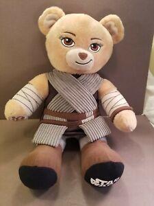 Build a Bear Disney Star Wars Rey Bear w/Uniform Plush Toy Stuffed Animal BAB
