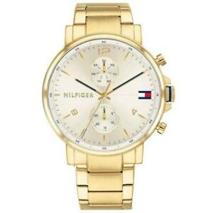 Tommy Hilfiger 1710415 Gold Men's Watch Daniel