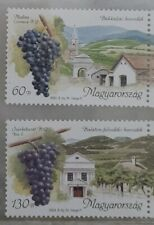 Hungary 2003 Grape Fruits Vineyards Stamps 2v