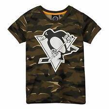 NHL Fan T-Shirt - Pittsburgh Penguins wood camo