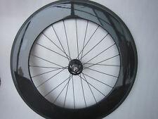 carbon track clincher bike wheel 88mm,only rear wheel,fixed gear