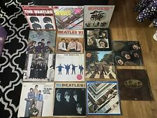 Huge Lot Of The Beatles Vinyl Records * LP Lot Of 14 Albums* Abbey Road & More!