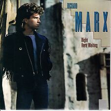 """RICHARD MARX  Right Here Waiting PICTURE SLEEVE  7"""" 45 record + juke box strip"""