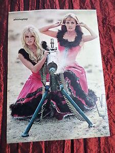 BRIGITTE BARDOT - JEANNE MOREAU - FILM STARS - 1 PAGE  PICTURE- CLIPPING/CUTTING