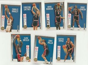 90's INSERTS LOT (7/12) 1992-93 SKYBOX USA ROAD TO GOLD PIPPEN MAGIC BARKLEY