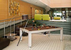 Billard PRONTO VISION 7 ft Billardtisch Billiard Pool Poolbillard und Esstisch