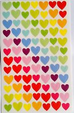 Rainbow Colorful Seal Heart Cute Stickers Scrapbook Decorating DIY for Children