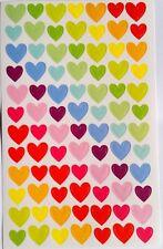 Arco iris colorido Sello corazón Lindas calcomanías álbum de recortes de decoración hágalo usted mismo Para Niños