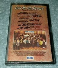 We are the World USA for Africa Michael Jackson Lionel Ritch cassette Tape vtg