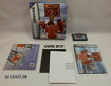 Disney's BROTHER BEAR (Nintendo Game Boy Advance) COMPLETE w/ Lion King Poster