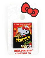 Hello Kitty & Friends Trading Pin Universal Studios Exclusive Dracula Poster Art