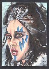 RED SONJA (BREYGENT 2011) SKETCH ART CARD (ARTIST PROOF) by TIM LEVANDOSKI