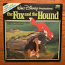 Walt Disney - The Fox and the Hound LP Disneyland 3823 Gatefold w/ Booklet VG+