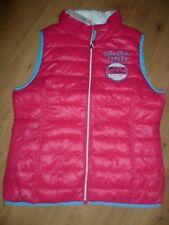 wunderschöne Damen SOCCX Weste Outdoor- Wende- Weste pink blau Gr. XL 42 NEU TOP