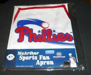 APRON McArthur Sports Fan Apron PHILADELPHIA PHILLIES NEW