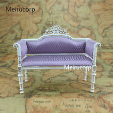 Doll Furniture 1:6 scale Handmade Sofa Rhombus pattern fabric