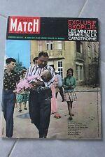 Paris match N°748 Seisme Skoplje,Prevert et Picasso