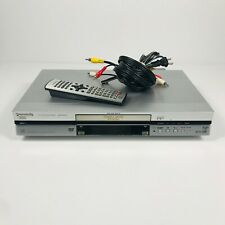 Panasonic DMR-E80H DVD DVR HDD Disc Player Recorder w/ Remote & AV Cable