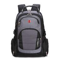 "SWISS GEAR 15.6"" Business Travel Laptop Backpack Men Wmen's Shoulders School Bag"