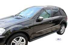SET 4 DEFLETTORI ARIA  ANTITURBO per Mercedes Class M W164 5 porte 2005-2013