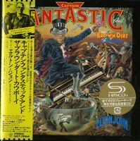 ELTON JOHN-CAPTAIN FANTASTIC AND THE BROWN...-JAPAN MINI LP SHM-CD Ltd/Ed G00