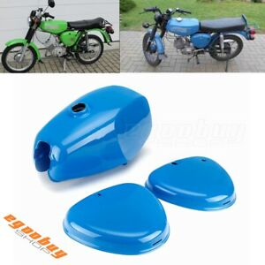 Steel Motorcycle Fuel Gas Tank With Side Cover For Simson S50 S51 S70 S 50 51 70