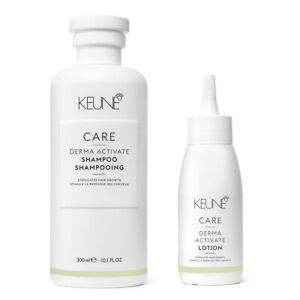 Keune Care Derma Activate Shampoo 300ml and Lotion 75ml