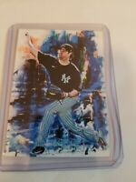 2020 Gerrit Cole New York Yankees 7/25 Art ACEO Blue Sketch Print Card By:Q
