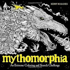 Mythomorphia An Extreme Coloring and Search Challenge Paperback by Kerby Rosanes