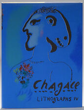 Marc Chagall Lithographs IV 1974 fine quality throughout Mourlot Studio prints