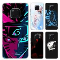 Naruto Anime Phone Case For Huawei Mate 10 20 Lite Pro Hard Plastic Phone Cover