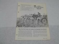 International No. 55 High Clearance Chisel Plow Sales Brochure