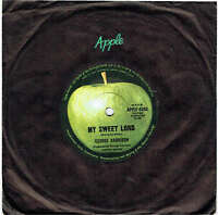 "GEORGE HARRISON - MY SWEET LORD - 7"" 45 VINYL RECORD - 1970"
